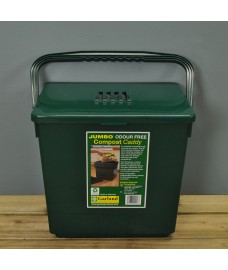 Jumbo Odour Free Compost Caddy (30 Litre) by Garland