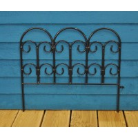 Steel Lawn Edging Panel (45cm x 41cm) by Gardman
