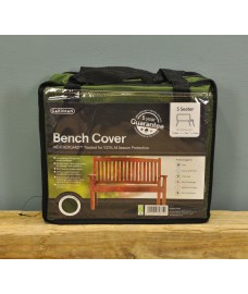 3 Seater 1.5m Bench Cover (Premium) in Green by Gardman