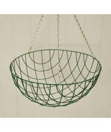 Traditional Wire Hanging Basket (40cm) by Gardman