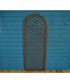 Willow Trellis With Curved Top (180cm x 60cm) by Gardman
