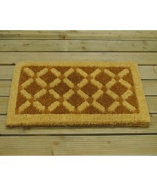 Super Thick Interlock Chelsea Coir Doormat by Gardman
