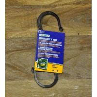 S Hook for Hanging Bird Feeders & Lanterns by Gardman