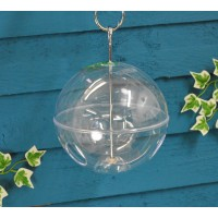 Perspex Hanging Globe Seed Bird Feeder by Gardman