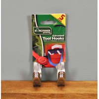 Tool Storage Hooks (Pack of 5) by Kingfisher