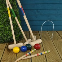 Traditional Garden Croquet Set by Kingfisher