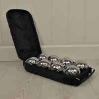Steel French Boules Set (Petanque) by Kingfisher