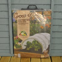 White Fleece Grow Tunnel Cloche by Gardman