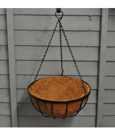 Metal Georgian Hanging Basket (30cm) by Gardman