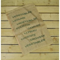 Large Hessian Jute Vegetable Storage Sack