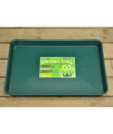 Plastic Gravel Soil Mixing Potting Tray in Green by Garland