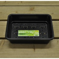 Half Size Seed Tray (Black) by Garland