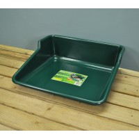 Plastic Soil Mixing and Potting Tidy Tray in Green by Garland