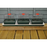 Three Top Windowsill Seed Propagator (Heated) by Garland