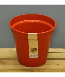 Round Plastic 20cm Plant Pot by Kingisher