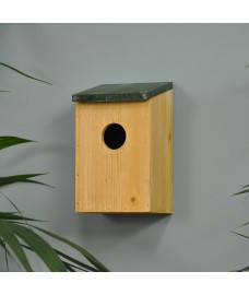 Wooden Bird Nesting Box by Kingfisher