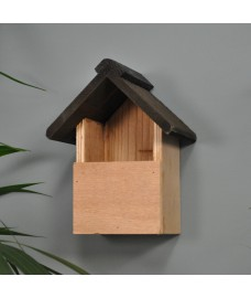 Delux Wooden Bird Nesting Box  by Kingfisher