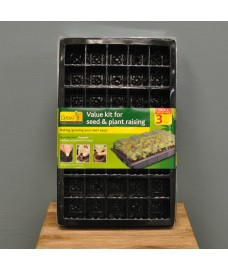 Value Kit Seed and Plant Raising (Pack of 3) by Gardman