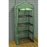 4 Tier Growhouse with Reinforced Cover by Gardman