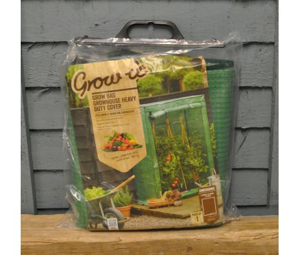 Growbag Growhouse Reinforced Replacement Cover by Gardman