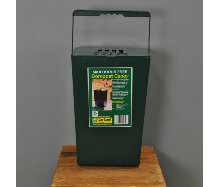 Odour Free Kitchen Compost Caddy (9 Litre) by Garland