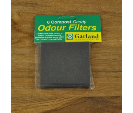 Compost Caddy Replacement Filters (6) by Garland