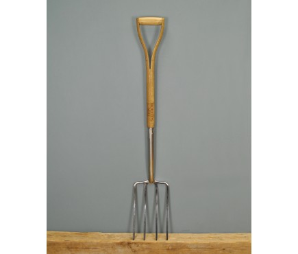 Moulton Mill Stainless Steel Digging Fork by Gardman