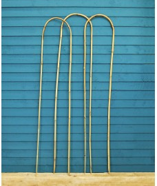 Pack of 3 Garden Bamboo Hoop Plant Supports (150cm) by Gardman