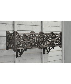 Stratford Window Box Wall Planter with Brackets by Garland