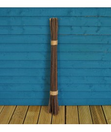Pack of 20 Willow Pea & Bean Support Sticks (90cm) by Gardman