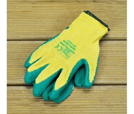 Latex Coated Gardening Gloves (Large) by Kingfisher
