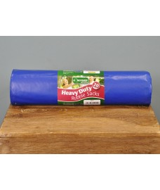 20 Blue Heavy Duty  40L Rubble Sacks by Kingfisher