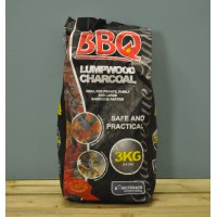3kg Bag of Lumpwood Charcoal by Kingfisher