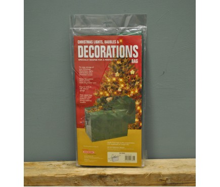 Christmas Decorations & Home Storage Bag by Bosmere