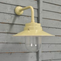 Belfast Lamp Wall Light in Clay (Mains) by Garden Trading