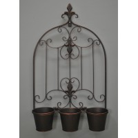 Versailles Design Triple Pot Wall Planter by Gardman