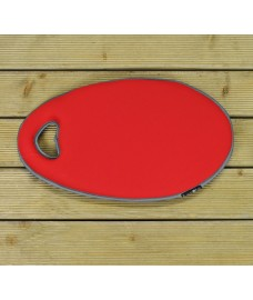 Kneelo Garden Kneeler Mat in Poppy Red by Burgon & Ball