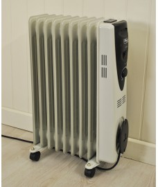 Portable Oil Radiator Heater (2000 watts) by Kingfisher
