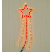 Shooting Star Multi-Coloured Rope Light by Kingfisher