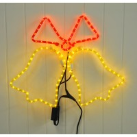 Two Bells Multi Action Rope Light by Kingfisher