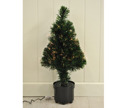 60cm Fibre Optic Artifical Green Christmas Tree by Kingfisher