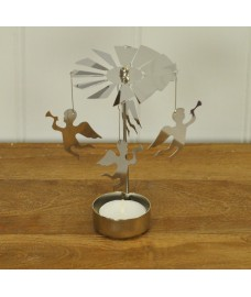 Table Top Christmas Cherub Tealight Spinner by Gardman