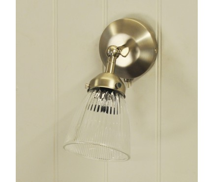 Pimlico Glass Wall Light by Garden Trading