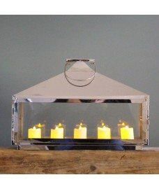 Hampton Tealight Candle Lantern by Selections