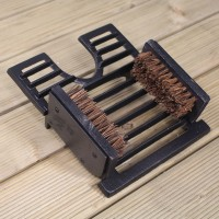 Cast Iron Classic Boot Jack & Shoe Scraper