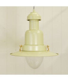 Large Pendant Fishing Light in Clay by Garden Trading
