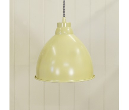 Harrow Pendant Light in Clay by Garden Trading