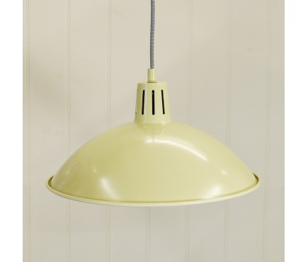 Battersea Pendant Ceiling Light in Clay by Garden Trading