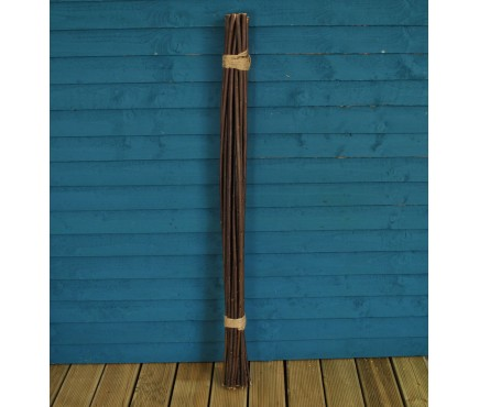 Pack of 20 Willow Pea & Bean Support Sticks (120cm)