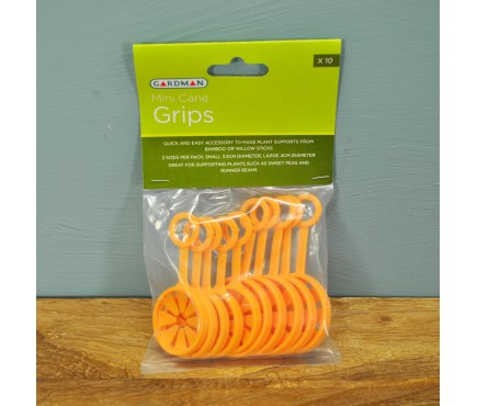Mini Bamboo Cane Grips (Pack of 10) by Gardman